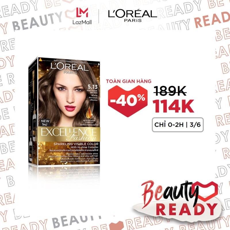 Kem nhuộm dưỡng tóc LOreal Paris Excellence Fashion 172ml giá rẻ