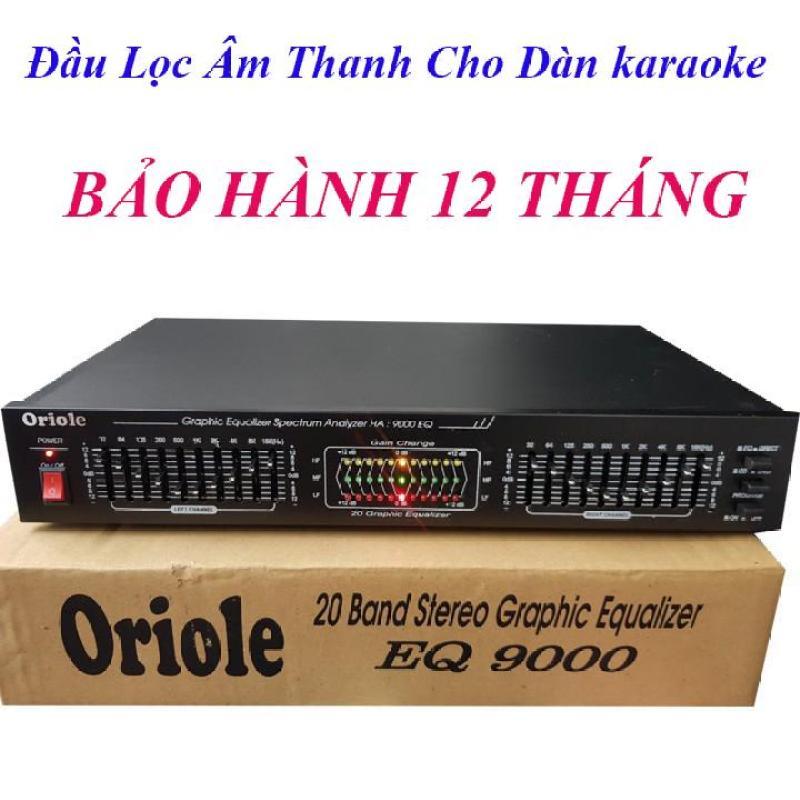 Đầu Lọc Âm Thanh Equalizer Oriole EQ9000 Cho Dàn karaoke