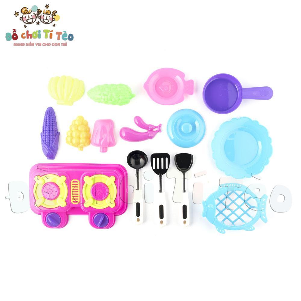 Hộp đồ chơi nấu ăn cho bé đồ chơi trẻ em (Nhiều màu) - Đồ chơi Tí Tèo