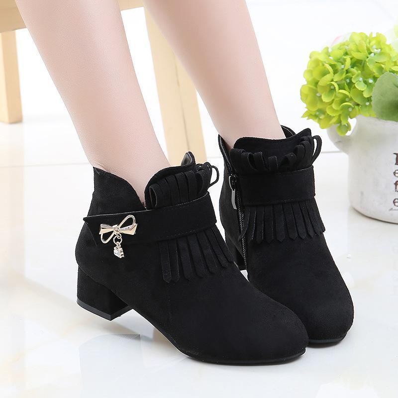 Giá bán Giày Boot ( cao cấp ) cho bé gái phong cách hàn quốc - EB001