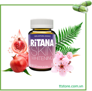 Viên uống trắng da RiTANA (Hộp 60 viên) [Viên uống chống nắng, Rinata, ranita, rinana] thumbnail