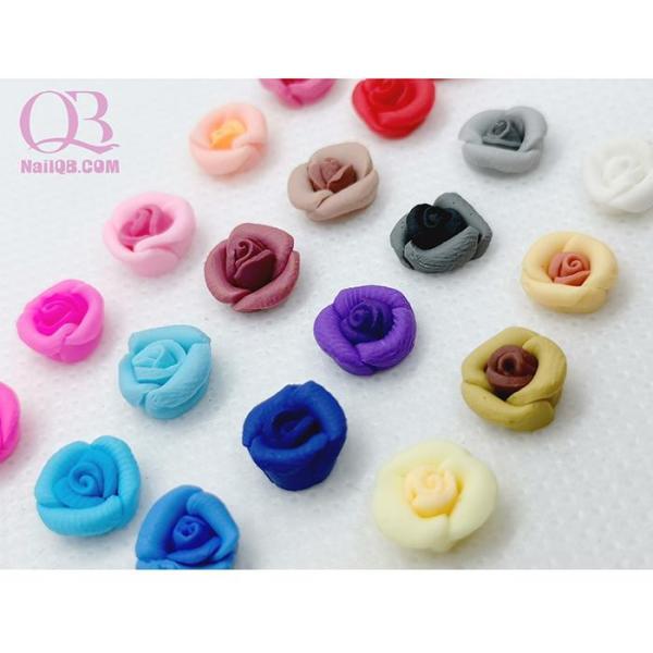 Set 4 bông hoa fantasy nhỏ trang trí móng tùy chọn màu cao cấp
