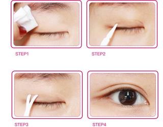 Cuộn miếng dán mí mắt 2 loại, giúp kích mí to, căng đầy rõ ràng, biến 1 mi thành 2 mí - Miếng dán kích mí - Dụng cụ trang điểm, dụng cụ dán mí thumbnail