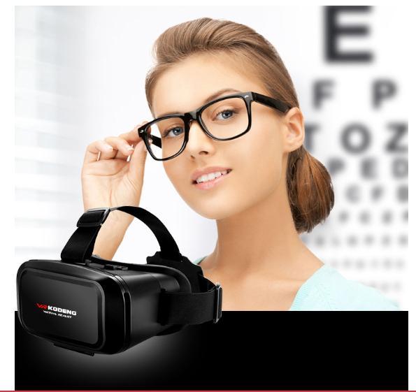 Giá Kính thực tế ảo rẻ, mua kính thực tế ảo ở tphcm - Kính thực tế ảo VR KODENG K2 cao cấp, Xem phim 3D, Sản phẩm ưa thích của giới trẻ, GIÁ CỰC SỐC