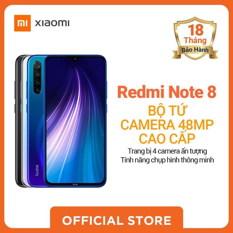 [XIAOMI OFFICIAL]Xiaomi official Điện Thoại Redmi Note 8  (4GB RAM/ 64GB ROM), Xanh, Đen, Trắng_ Hàng chính hãng, bảo hành 18 tháng