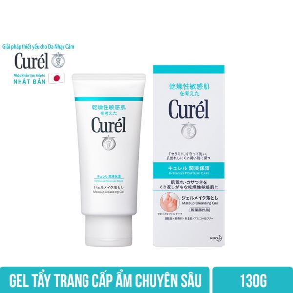 Gel Tẩy Trang Cấp Ẩm Chuyên Sâu Curel Intensive Moisture Care Makeup Cleansing Gel 130g cao cấp