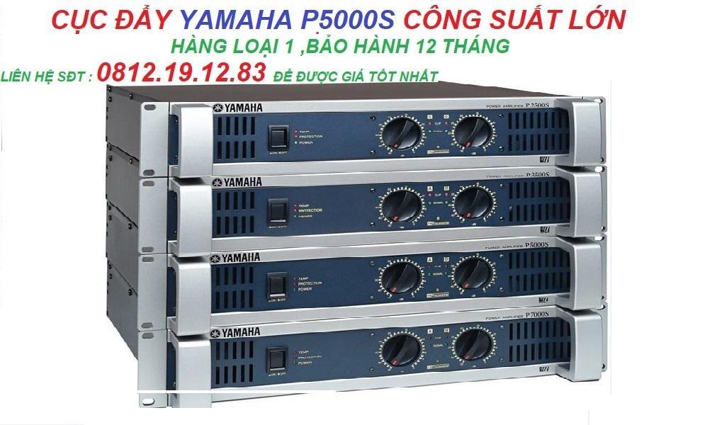 Cục đẩy công suất lớn YAMAHA P5000s loại 1 Nhật Bản