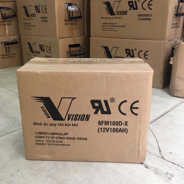 ẮC QUY XẢ SÂU VISION 12V-100D-X (12V-100AH)