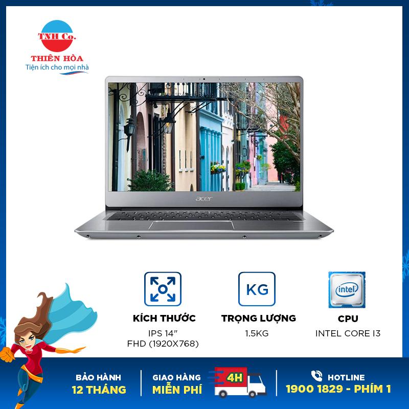 Bảng giá [Trả góp 0%]Laptop Acer Swift SF 314-56-38UE (NX.H4CSV.005) Phong Vũ
