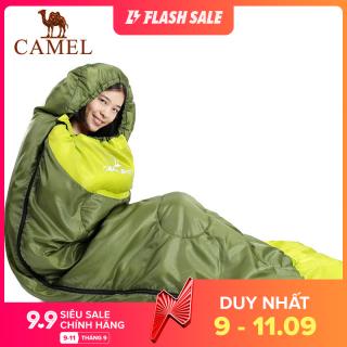 Camel 1.1KG Trái Hoàn Hảo Cho 15-25 Độ Du Lịch Không Thấm Nước Cắm Trại Ngoài Trời Túi Ngủ, Siêu Nhẹ Dành Cho Người Lớn Túi Ngủ thumbnail
