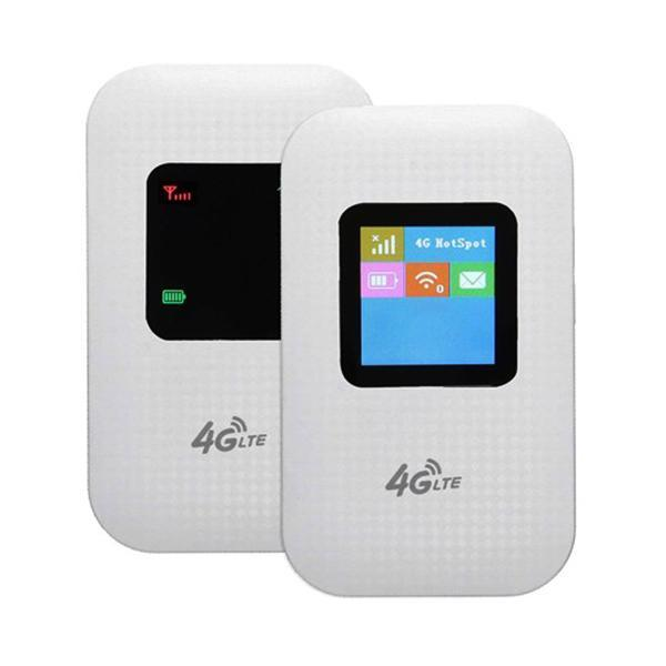 Bảng giá Bộ phát wifi 4G LTE M100 có màn hình LCD - Hỗ trợ vừa sử dụng vừa sạc (White Trắng) Phong Vũ