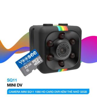 (xả hàng) Camera Hành Trình SQ11 Full HD 1080 Kiểu Dáng Nhỏ Gọn Dũng thumbnail