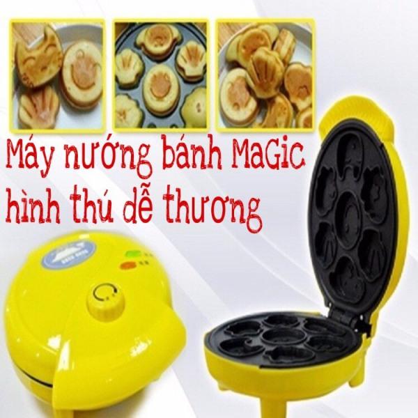 [GIÃM 50%] Máy Nướng Bánh Và Làm Bánh Hình Thú Magic