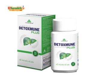 Detoxmune Plus giúp đào thải độc tố , giải độc gan, men gan cao do sử dụng nhiều bia rượu thumbnail
