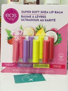 Set son dưỡng môi hữu cơ EOS 8 cây thumbnail