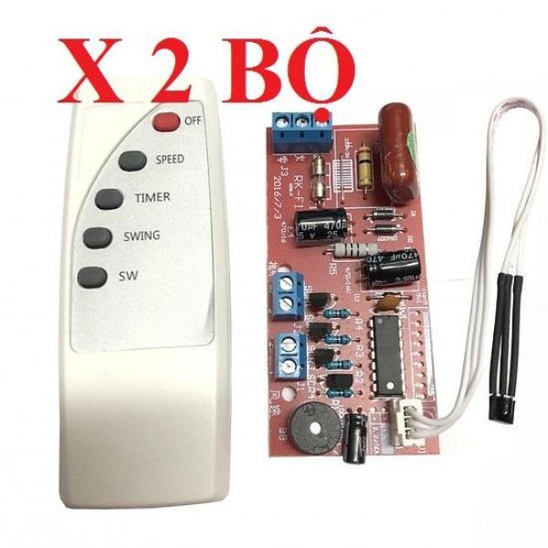 Combo 02 bộ mạch điều khiển quạt từ xa (chữ tiếng Anh)