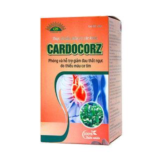 Cardocorz Hỗ trợ giảm đau thắt ngực do thiếu máu cơ tim, người đặt stent và có nguy cơ đột quỵ thumbnail