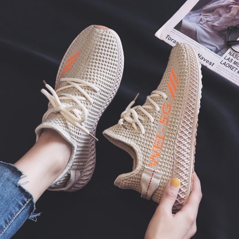 (Có 3 Màu) Giày sneaker nữ thể thao WEII 5G đế đan mới về - Sudoo giá rẻ