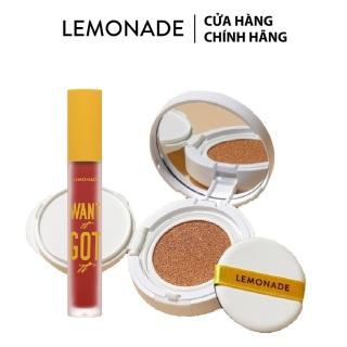 Combo Phấn nước đơn Lemonade Matte Addict Cushion 15g và Son kem lì Want It Got It 5g thumbnail