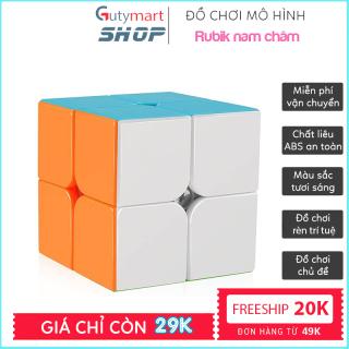 [MUA 3X3 TẶNG 1 RUBIK HOẶC Ô TÔ] Đồ Chơi Phát Triển Trí Tuệ Rubik 2x2x2, 3x3x3 - Rubik Magic Cube 3x3 Nam Châm Giá Rẻ Promotion HÀNG XỊN Xoay Nhanh Mượt, Bẻ Góc Tốt (shop có đủ rubik 2x2x2, 3x3x3, 4x4x4, 5x5x5, 6x6x6, 7x7x7) - guty mart thumbnail