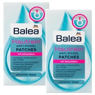 02 set Miếng dán khử mụn hiệu quả Balea Patches (2 x 36 miếng) - Đức thumbnail