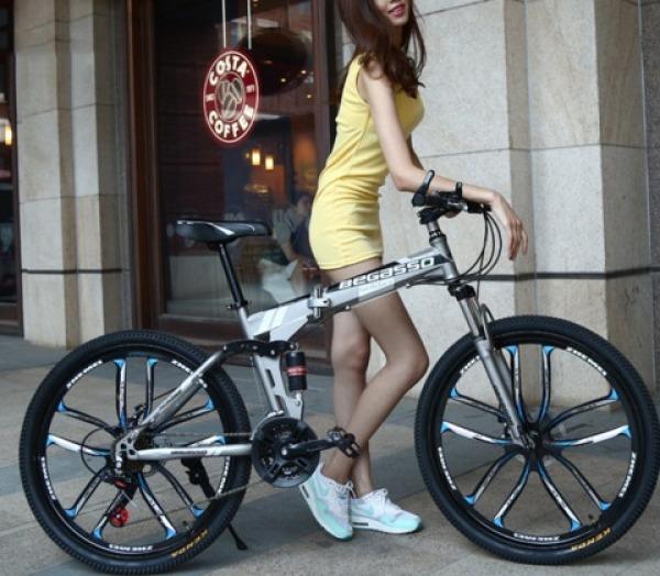 Phân phối Xe đạp gấp thể thao BEGASSO trẻ trung năng động cho nam nữ phanh an toàn, xe đạp leo núi xe thể thao leo núi, xe địa hình thể thao xe đạp Xe dap