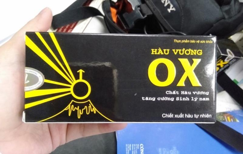 Hàu Vương OX - Hộp 30 viên