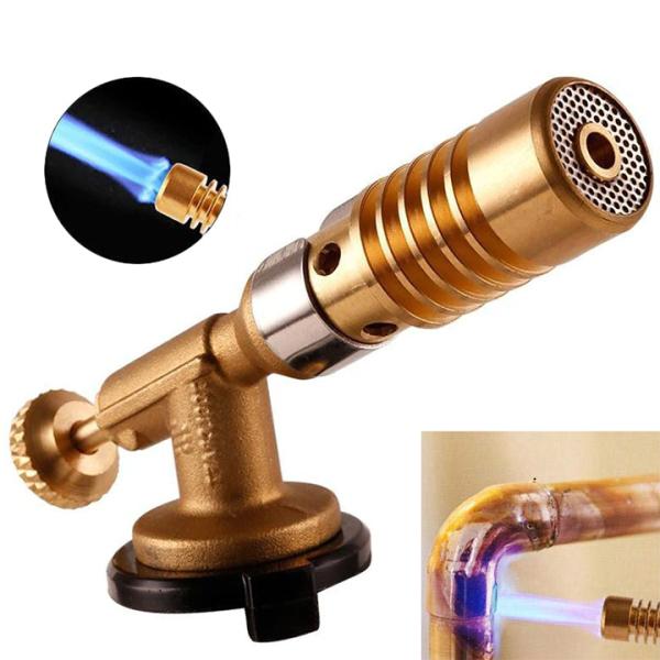 Đèn khò gas 1300 độ bằng đồng nguyên khối độ bền cao