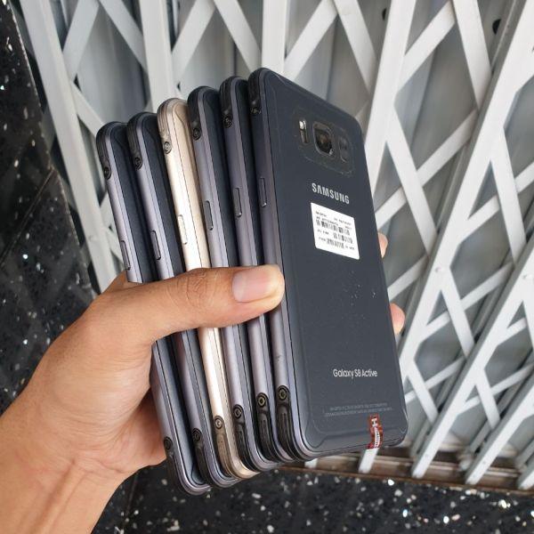 Điện thoại Samsung Galaxy S8 Active AT&T chuẩn zin, cấu hình mạnh, PIN khủng