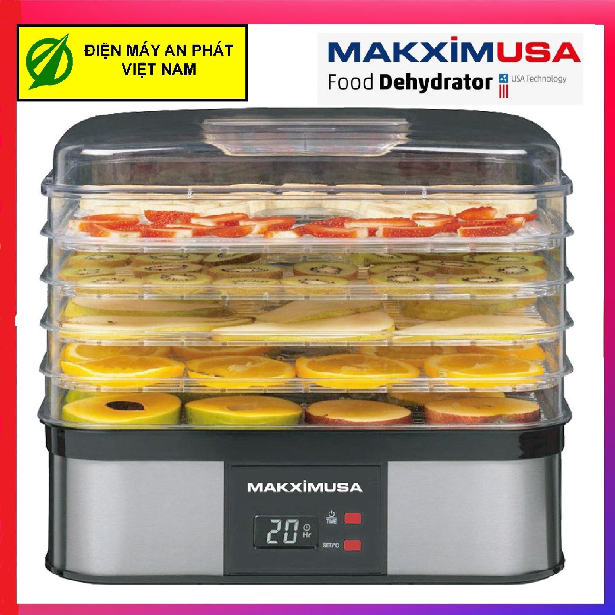 Máy sấy hoa quả thực phẩm Makxim USA MKX-DH-2015 (Hàng Công ty - Bảo hành chính hãng 12 tháng)