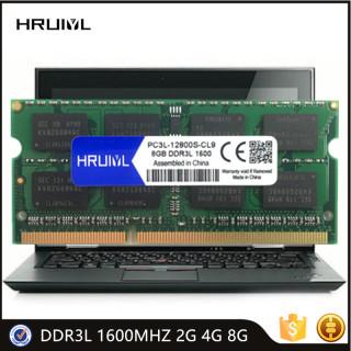 Laptop RAM PC3L-12800S 1.35V 204 Pin Memoria Sdram DDR3L 1600MHZ 2G 4G 8G High Performance Notebook Memory 1600 Mhz thumbnail