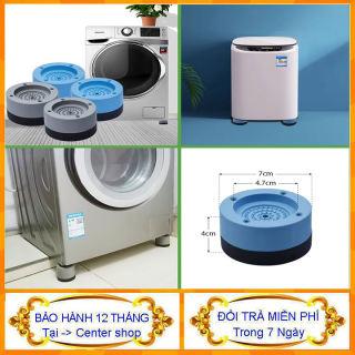 { Covideo } Sét 4 cái chống rung máy giặt - chống rung máy giặt - cục rung máy giặt, miếng đệm chống rung máy giặt, chống rung đệm chống trượt hiệu quả - Center shop