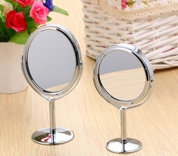 Gương tròn trang điểm 2 măt gương