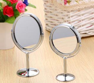 [HÀNG VỀ LẠI] Gương tròn trang điểm 2 măt gương thumbnail