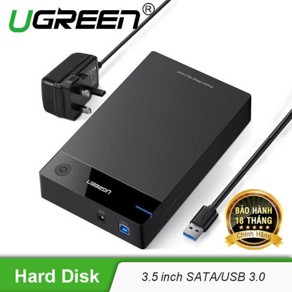 Bảng giá Vỏ Hộp đựng ổ cứng 3.5/2.5 inch SATA/USB 3.0 hỗ trợ 10TB dài 50cm UGREEN US222 50422 Phong Vũ