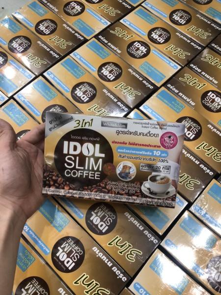 (Mẫu mới) coffe idol giảm cân 3in1