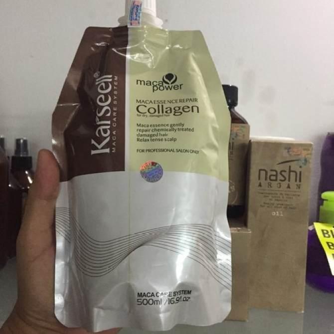 Kem Hấp Tóc Collagen Karseell Maca Cho Mái Tóc Siêu Mượt nhập khẩu