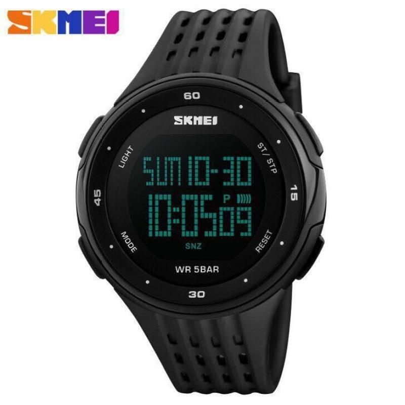 Đồng hồ thời trang nam Skmei điện tử dây silicon MS334