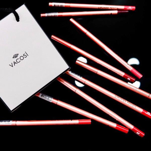 Chì Kẻ Viền Môi Vacosi Lipliner Pencil 3g (PHIÊN BẢN MỚI) giá rẻ