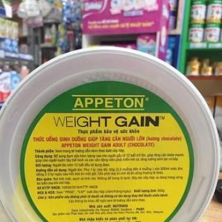 Sữa bột Appeton Weight Gain người lớn vị Chocolate 450g thumbnail