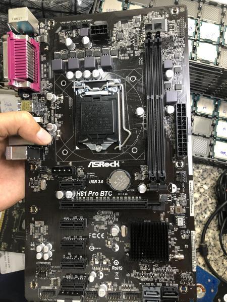 Bảng giá Main máy tính Asrock H81 Pro BTC, mainboard asrock h81 btc Phong Vũ