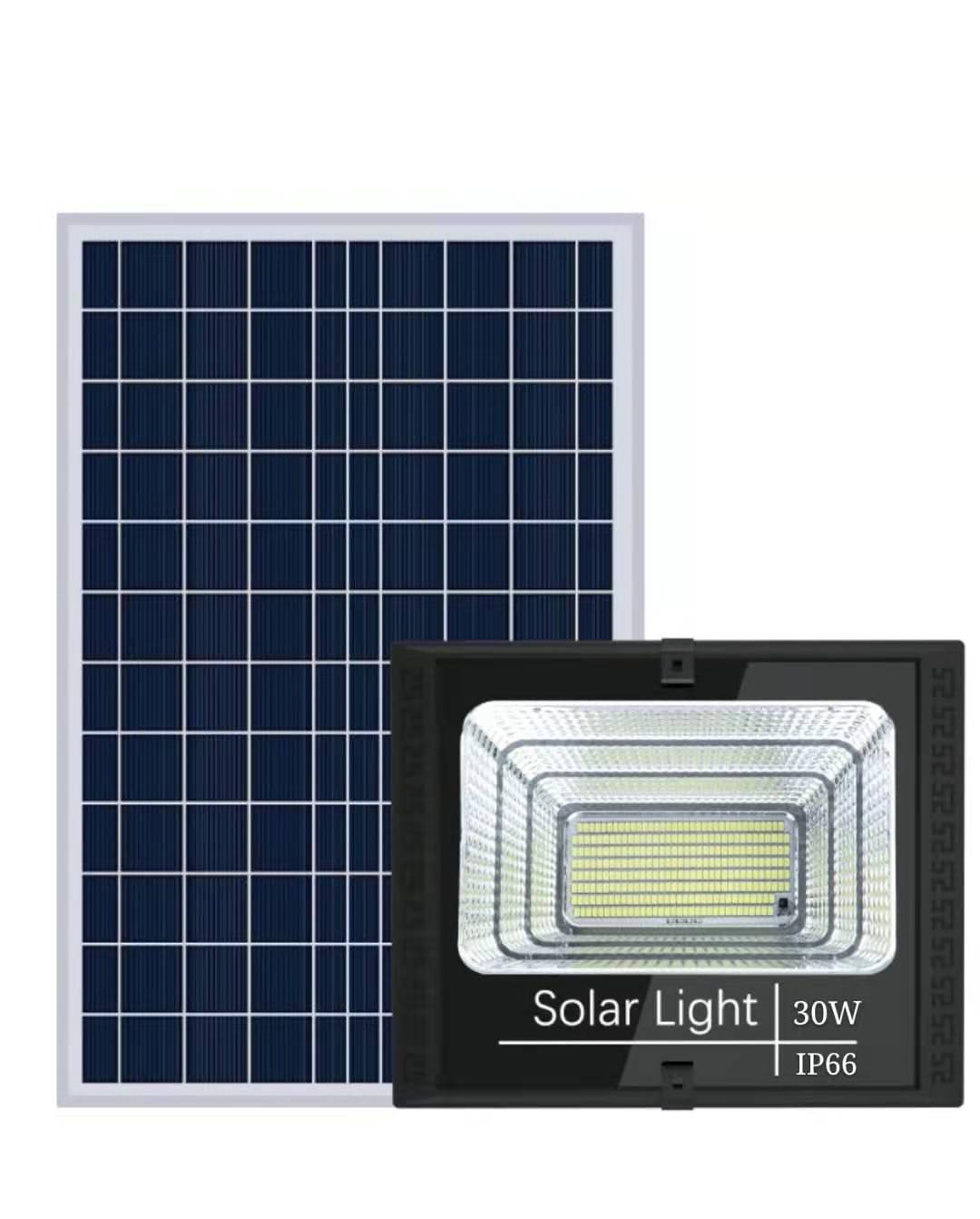 Đèn Led Pha Năng Lượng Mặt Trời 30W 60W 100W 200W Siêu Giảm Giá