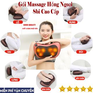 [FREESHIP - GIÁ SỈ] Gối Massage Đa Năng, Máy Massage Hồng Ngoại 8 Bi Thế Hệ Mới. Mát Xa Các Cơ Huyệt, Xoa Bóp Chống Nhức Mỏi, Nhanh Chóng Giảm Căng Thẳng , Stress .Giá Cực Sốc - Bảo Hành Toàn Quốc Trong Thời Gian 12 Tháng. thumbnail