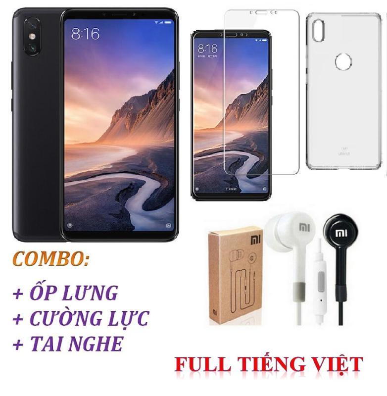 Xiaomi Mi Max 3 64GB Ram 4GB ( Đen ) Full Tiếng Việt + Ốp lưng + Cường lực + Tai nghe  Shop Online 24 - Hàng nhập khẩu