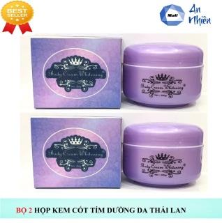 Bộ 2 Hộp Cốt Tím Dưỡng Body Toàn Thân Thái Lan 250gr - Mẫu mới thumbnail