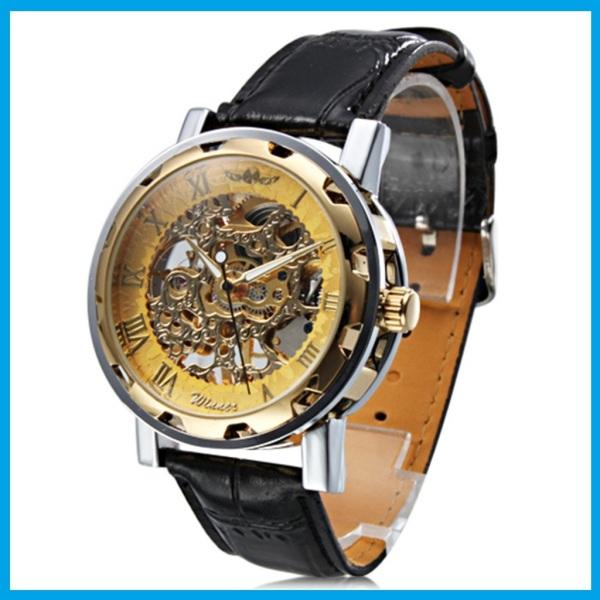 [VIDEO - DSHOP]- Đồng hồ cơ nam lộ máy mặt kính sapphire chống nước 30M, đồng hồ nam dây da, HÀNG CHÍNH HÃNG HIỆU WINNER, NHẬP KHẨU NGUYÊN CHIẾC
