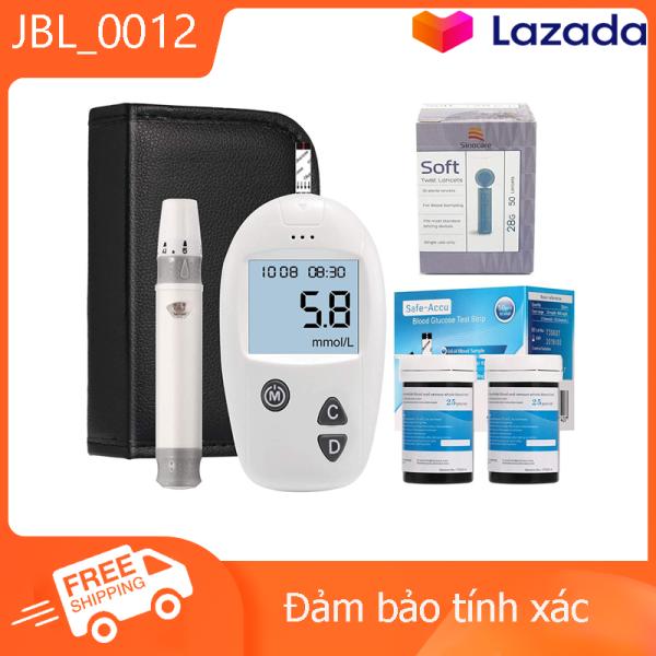 Nơi bán Máy đo đường huyết/ máy đo tiểu đường safe-accu (Model mới) [[Tặng kèm 50kim+ 50que thử đường huyết]]