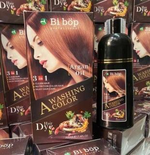 Ở nhà cũng có tóc đẹp Gội nâu sô cô la Bibop Nhật Bản lên màu ngay sau 15 phút chuyên gia phủ bạc thumbnail