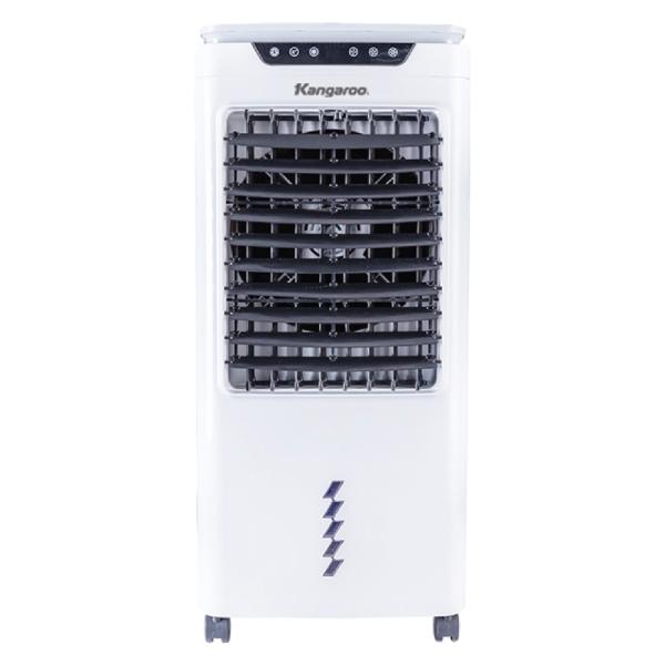 Máy làm mát không khí Kangaroo KG50F64, có diện tích từ 20 – 25m2., sử dụng hơi nước để hấp thụ nhiệt và làm giảm nhiệt độ không khí, Điều khiển từ xa tiện dụng