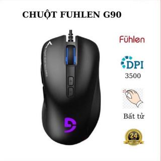 Chuột chơi game FUHLEN G90 PRO độ nhạy cao 5000DPI thumbnail